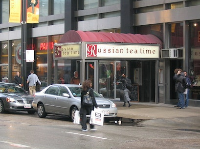 Russian Tea Time Restaurant Chicago Illinois United States