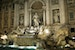 Night shot of Trevi Fountain