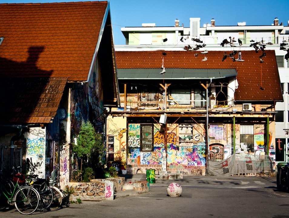 Art with a Voice: Metelkova City Cultural Center Ljubljana  Slovenia