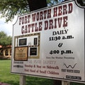 Cowtown Cattle Drive Fort Worth Texas United States