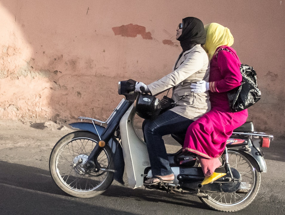 Marrakech Motocycle Maidens Marrakech  Morocco