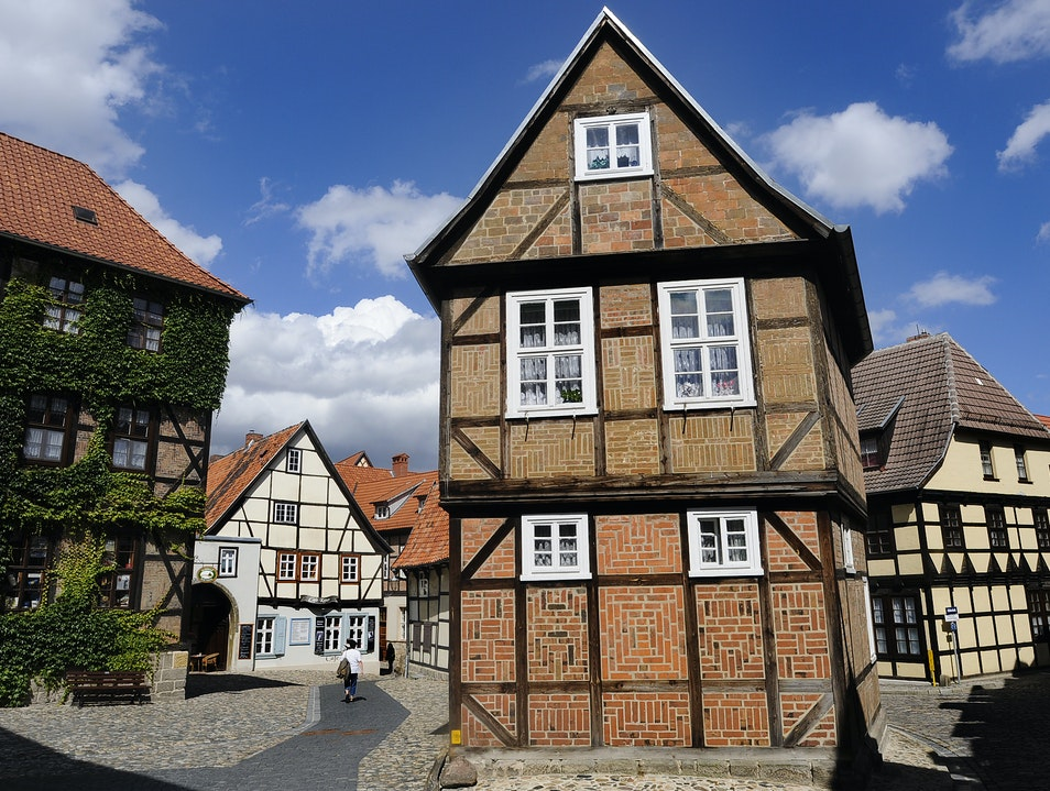 Time travel to Quedlinburg, Germany Quedlinburg  Germany