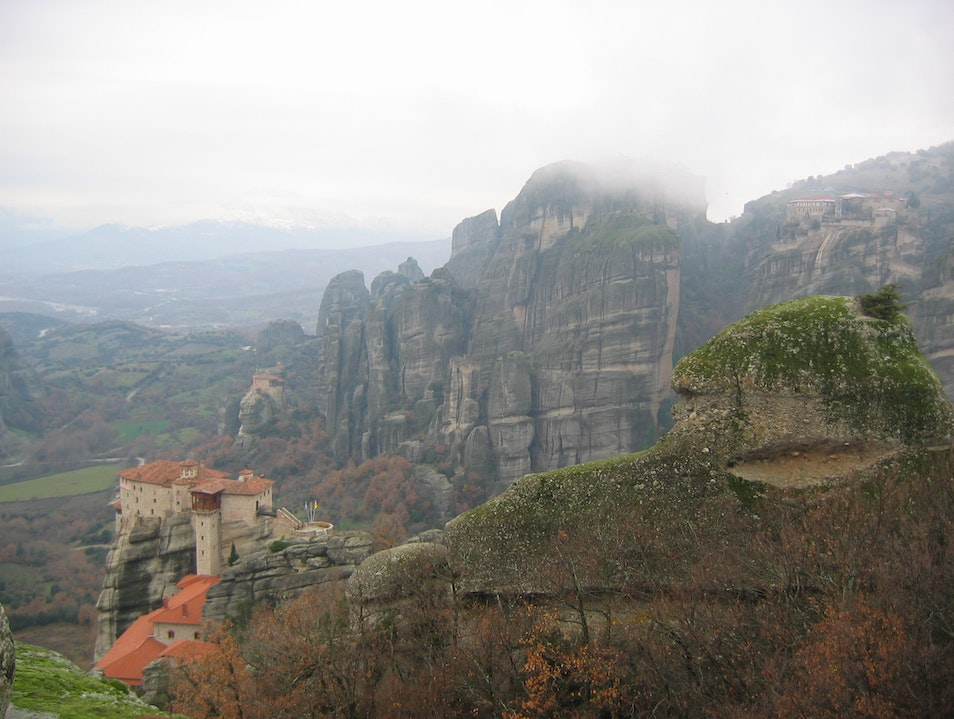 Meteora, Greece Polichni  Greece