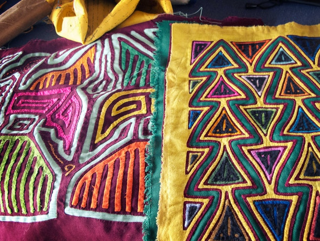 Colorful Molas