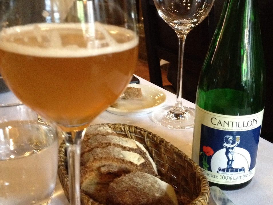 Lunch With Beer Pairing Bruges  Belgium