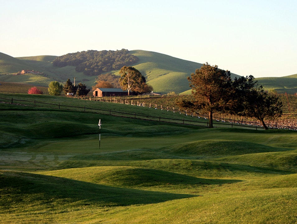 Par for the Course in Napa American Canyon California United States