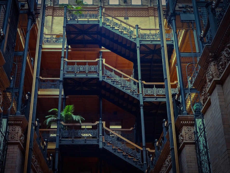 The Bradbury Building Los Angeles California United States