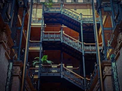 Bradbury Building Los Angeles California United States