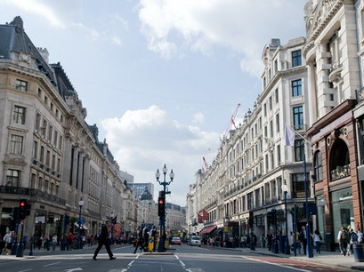 Regent Street London  United Kingdom