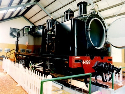 Fell Locomotive Museum Featherston  New Zealand