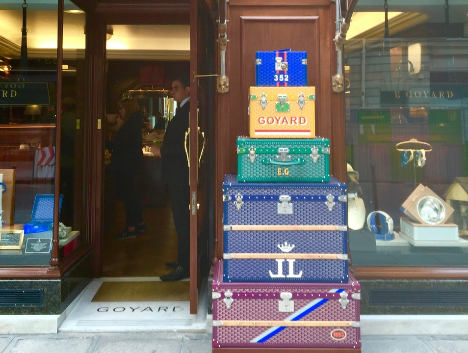 Where the Luxury Luggage Brand Started