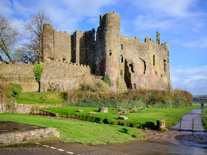 Laugharne Castle Laugharne  United Kingdom