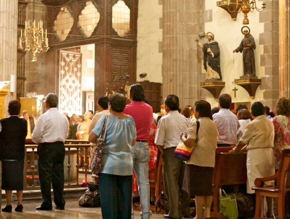 Practice Your Spanish at Mass  Mexico City  Mexico