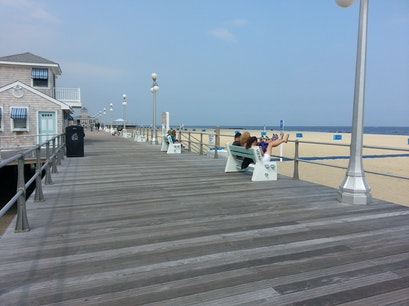 Avon Beach and Boardwalk,  Avon By The Sea New Jersey United States