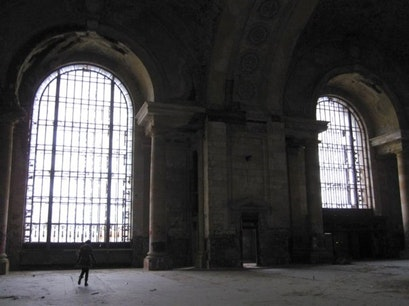 Michigan Central Train Depot Detroit Michigan United States