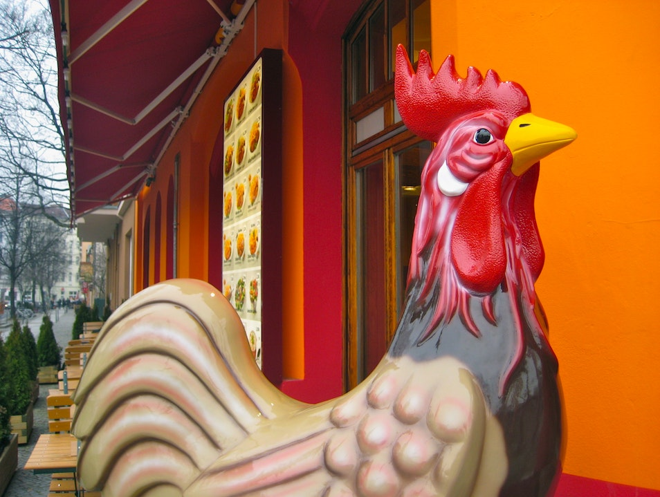 Where Taxi Drivers Eat Chicken in Berlin
