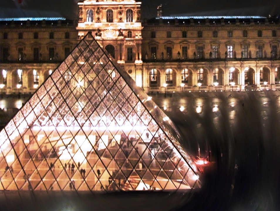 The Louvre at night - Paris   France