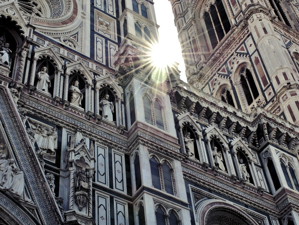 Morning Sun at Il Duomo, Florence Florence  Italy