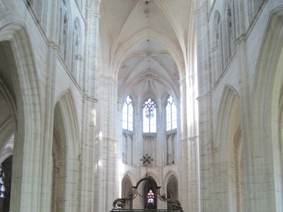 Abbey of Saint-Germain d'Auxerre Auxerre  France
