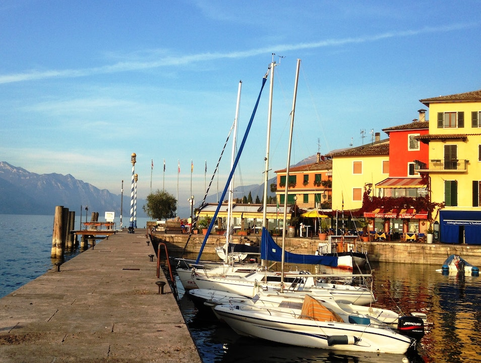 Savor the Character of a Lakeside Italian Town Brenzone  Italy