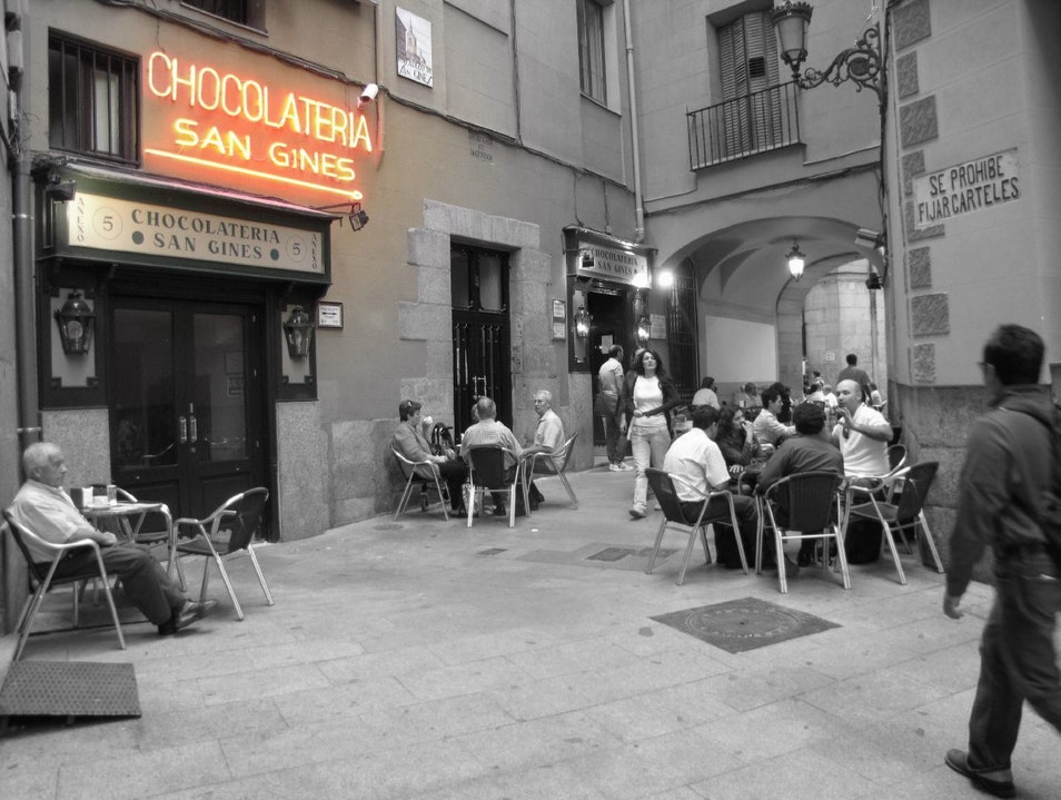 San Ginés: Madrid's 24-7 Chocolateria  Madrid  Spain