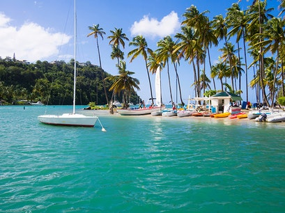 Marigot Bay Castries  Saint Lucia