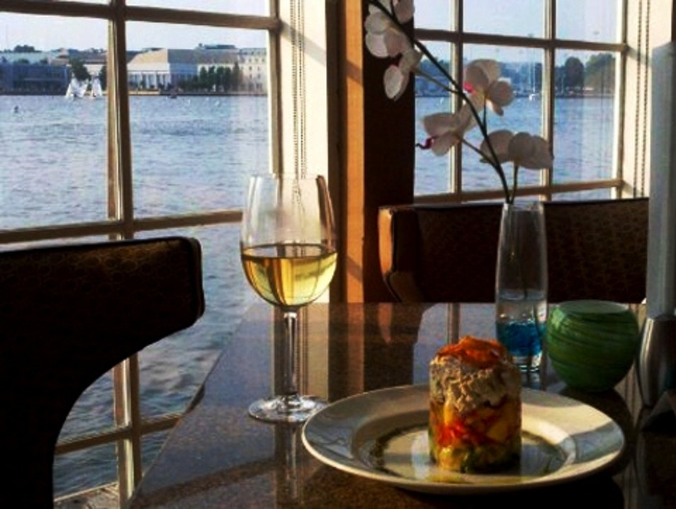 Romantic Views at Chart House Restaurant Annapolis Maryland United States