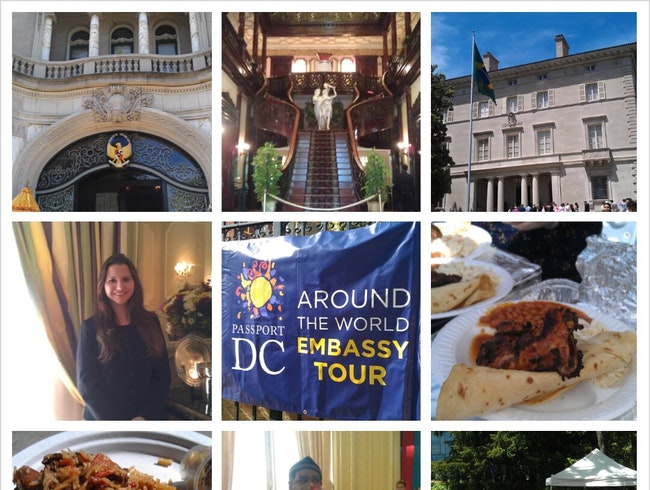 Around-the-World Embassy Tour