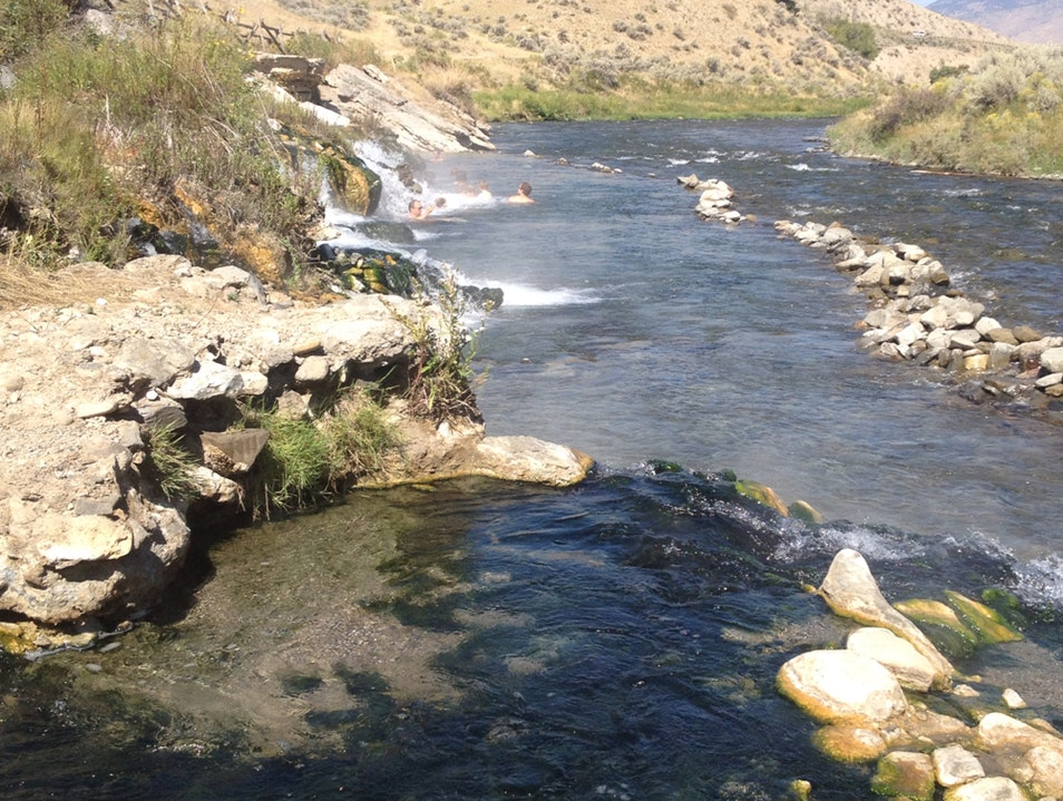 Swimming Hole at Boiling River
