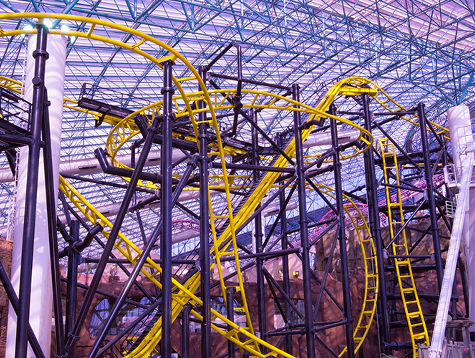 Adventuredome theme park Las Vegas Nevada United States