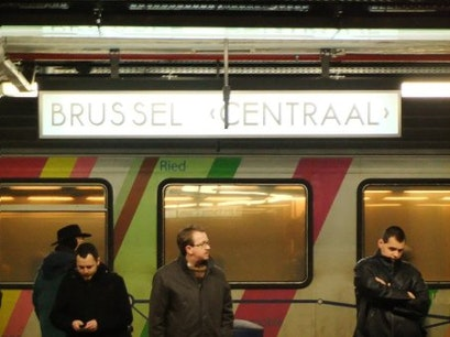 Station Brussel-Centraal Brussels  Belgium