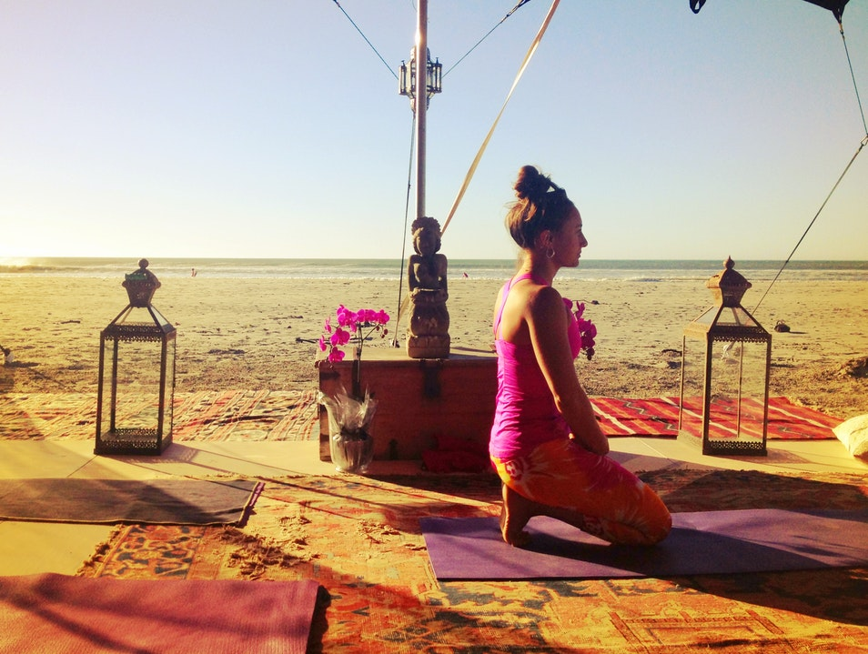Do a yoga class or retreat Paternoster  South Africa