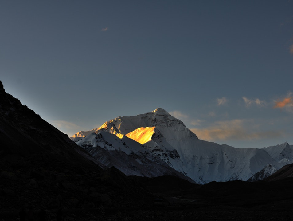 Sunrise of Mt.Everest Rikaze  China