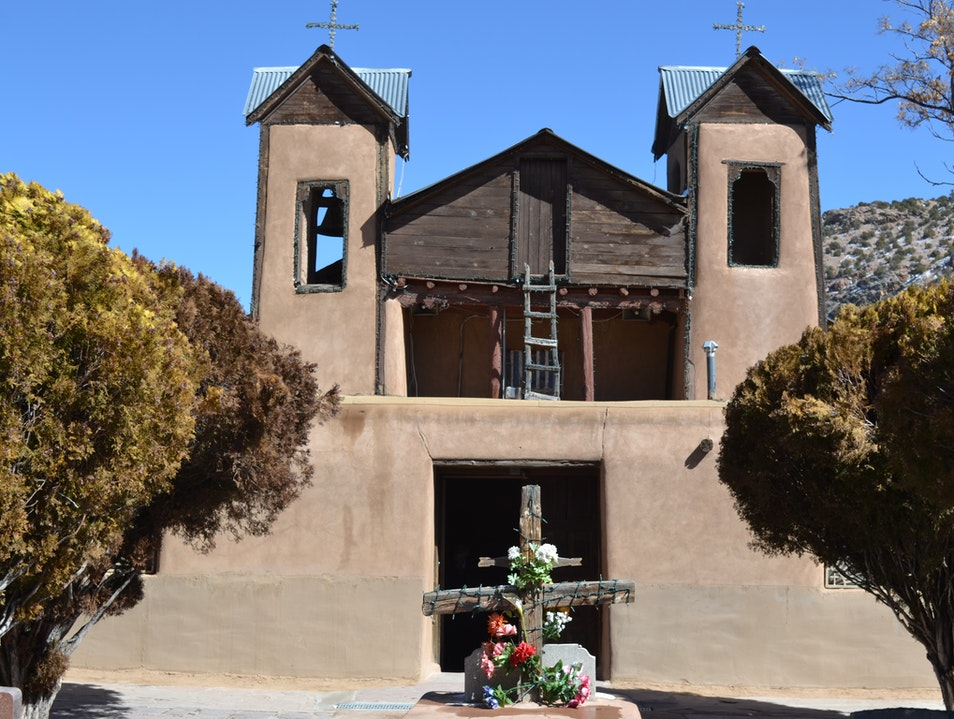 Sacred Earth and a Simple Pilgrimage Chimayo New Mexico United States