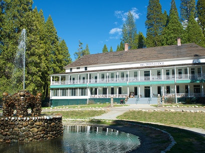 Big Trees Lodge Yosemite Valley California United States