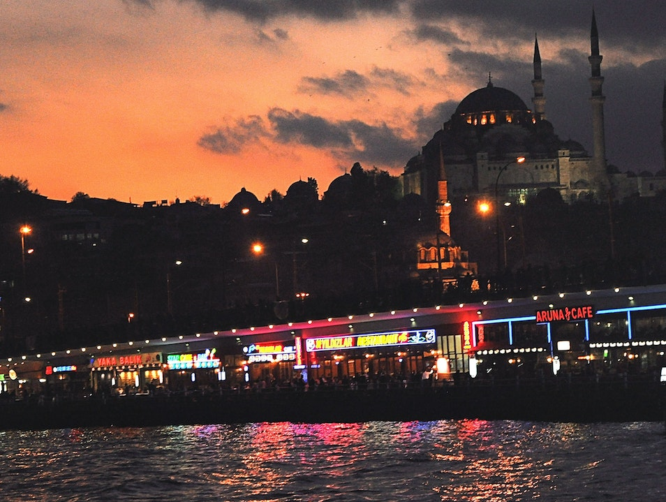 Istanbul: Take in the Colors of the Bosphorus Istanbul  Turkey