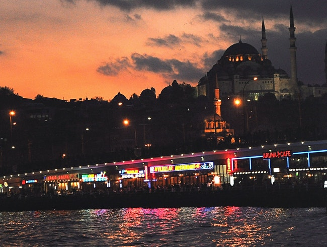 Istanbul: Take in the Colors of the Bosphorus