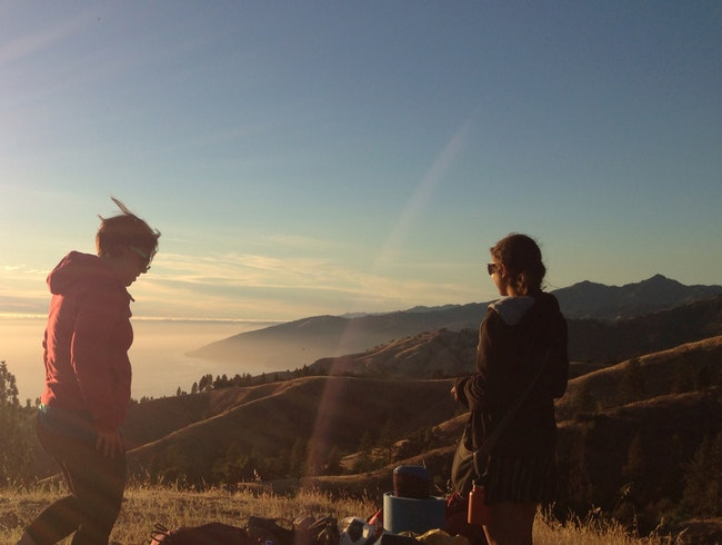 Camping In Big Sur