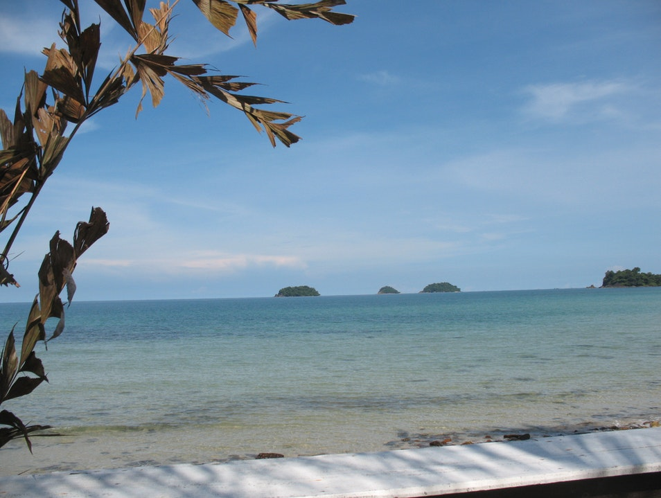 The Gulf of Thailand Ko Chang  Thailand