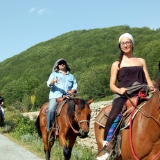 Horse riding in Macedonia