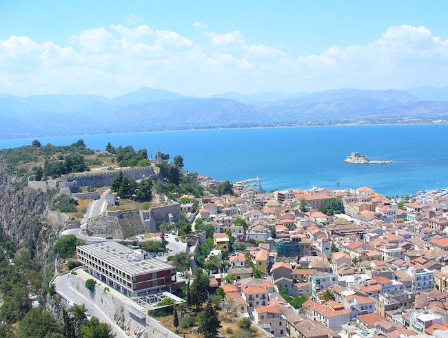 Lesser known ruins in Nafplio