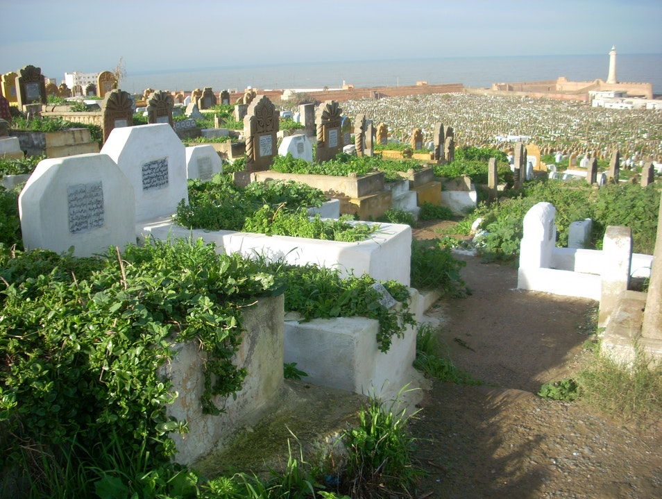 The Dead Tumbling Down to the Sea Rabat  Morocco
