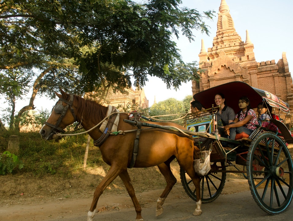 City of Gold  Old Bagan  Myanmar