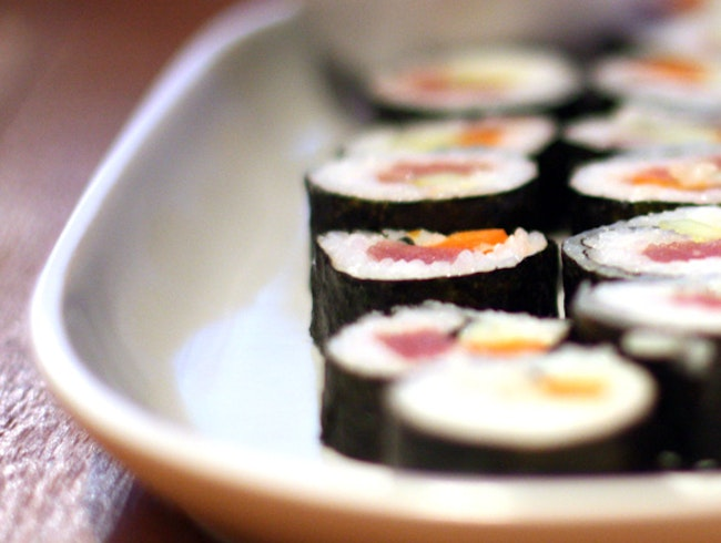 Sushi with a Guatemalan Twist