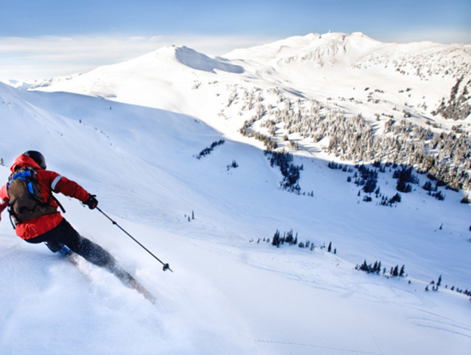 Winter Activities Fit for an Olympian Whistler  Canada