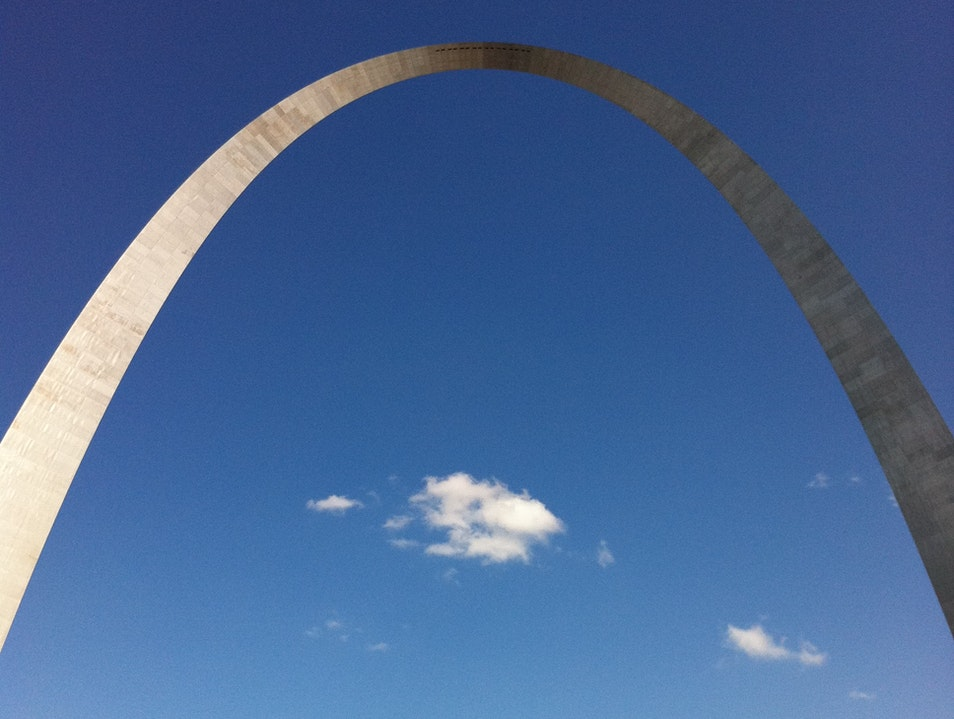 The audacity of form--the Arch in St. Louis St. Louis Missouri United States