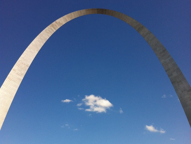 The audacity of form--the Arch in St. Louis