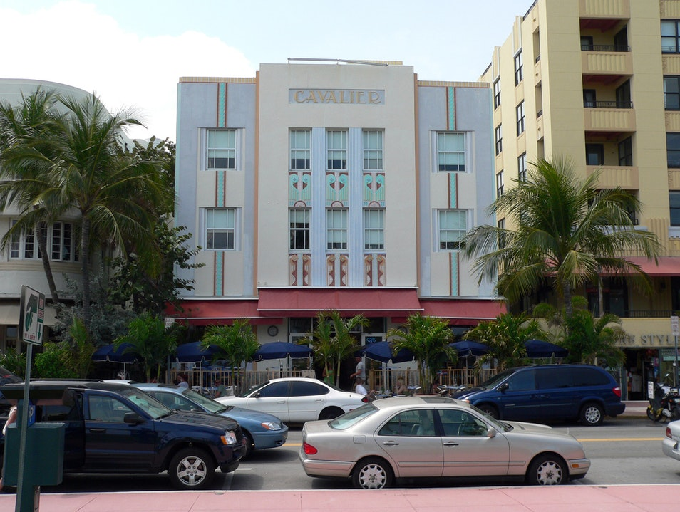 Architectural Throwback  Miami Beach Florida United States