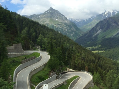 Maloja Pass Bregaglia  Switzerland