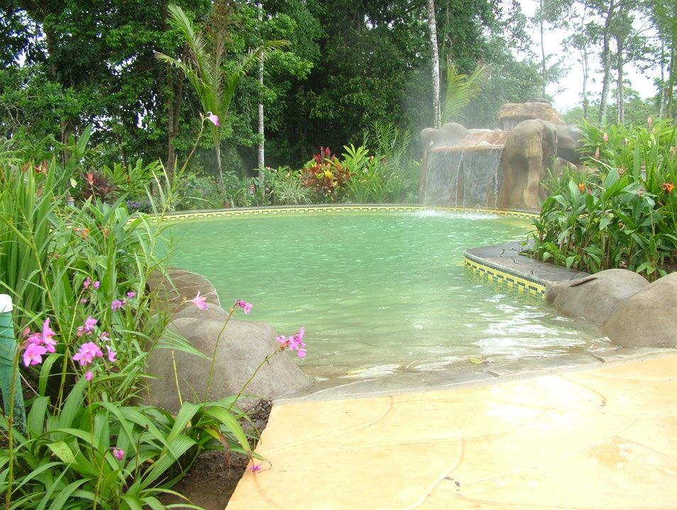 "Natural Mineral ""Green"" Hot Springs Guanacaste  Costa Rica"